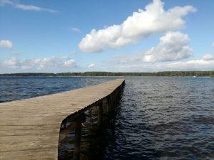 Lou Broustaricq : Lac Sanguinet