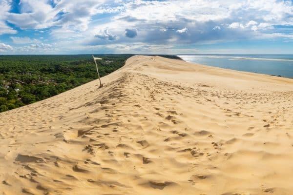 Lou Broustaricq : Dune Du Pilat Sur Le Bassin D'arcachon