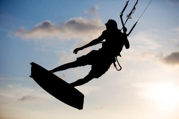 Lou Broustaricq : Kitesurf à Sanguinet